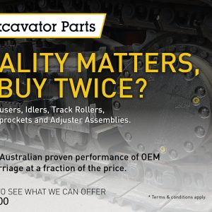 Inspecting and maintaining excavator undercarriages will help you get longer machine life