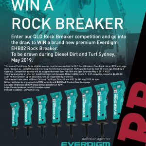 Win A Everdigm Rock Breaker